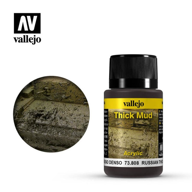 AV Vallejo Weathering Effects 40ml - Russian Thick Mud
