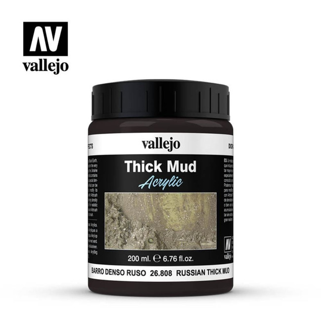 AV Vallejo Weathering Effects 200ml - Russian Thick Mud