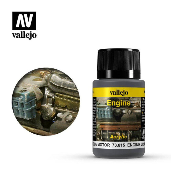 AV Vallejo Weathering Effects 40ml - Engine Grime