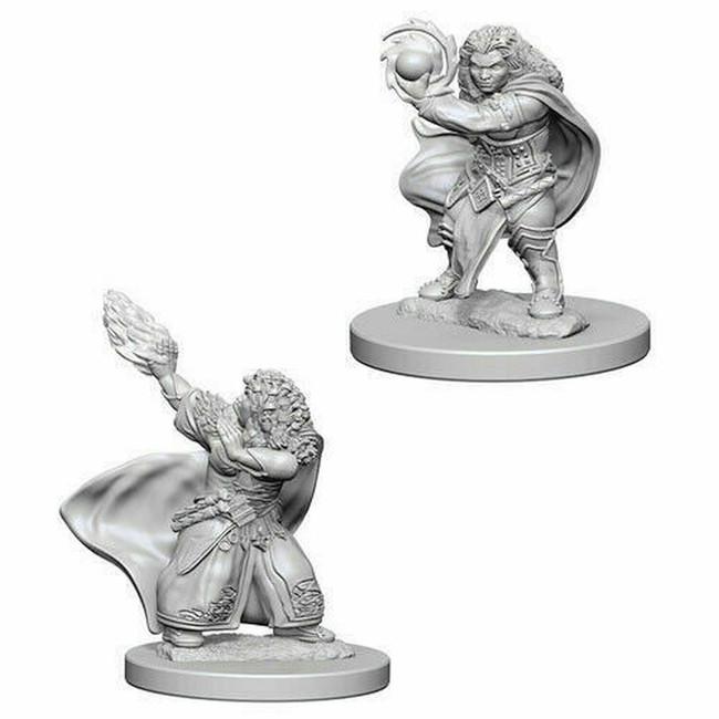 Dwarf Female Wizard: D&D Nolzur's Marvelous Unpainted Miniatures (W4)