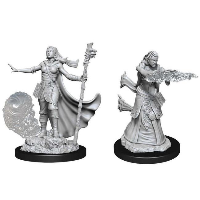 Female Human Wizard: D&D Nolzur's Marvelous Unpainted Miniatures (W11)