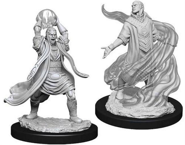 Male Elf Sorcerer: D&D Nolzur's Marvelous Unpainted Miniatures (W11)