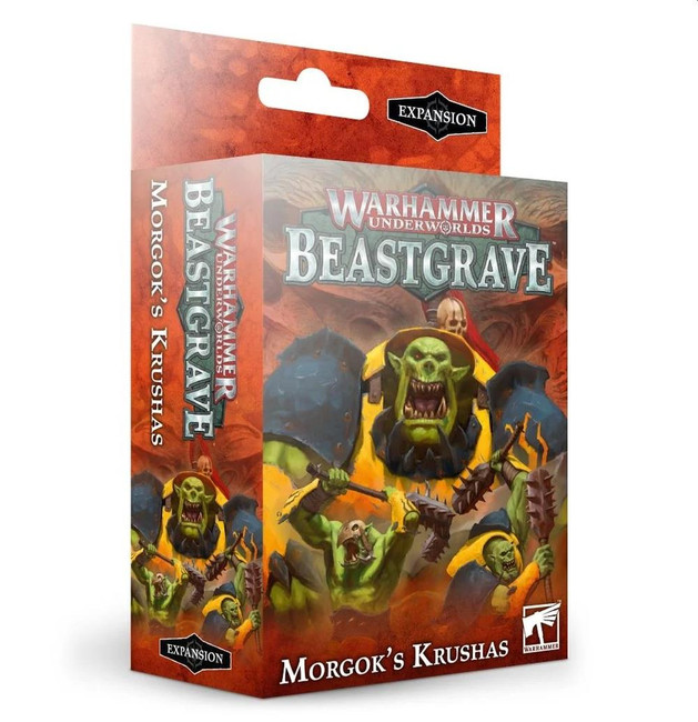 Warhammer Underworlds: Beastgrave - Morgok's Krushas, (English)