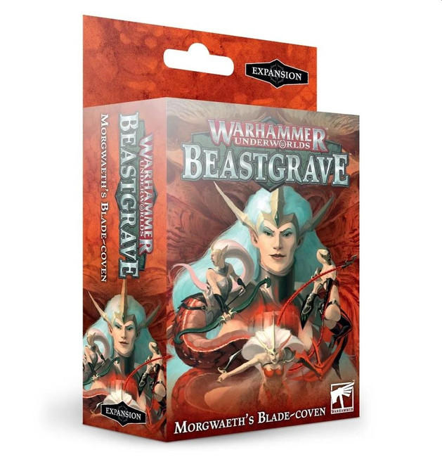 Warhammer Underworlds: Beastgrave - Morgwaeth's Blade-coven, (English), Warhammer 40,000