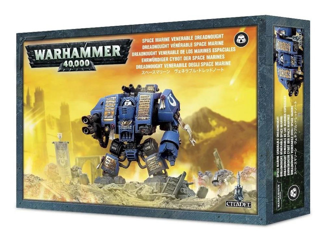 Space Marine Venerable Dreadnought, Warhammer 40,000, 40k, Games Workshop