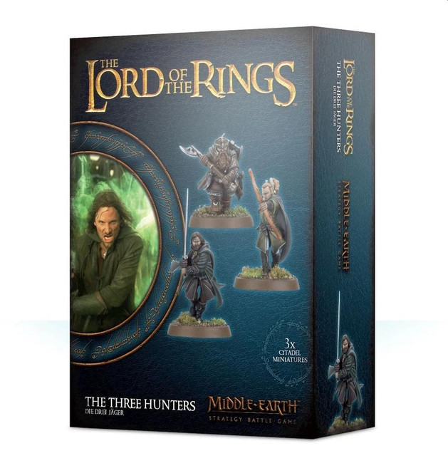 Middle-Earth/Lord Of The Rings: The Three Hunters, LOTR Minatures Game