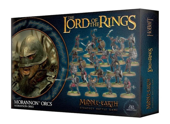 Middle-Earth/Lord Of The Rings: Morannon Orcs, LOTR Minatures Game