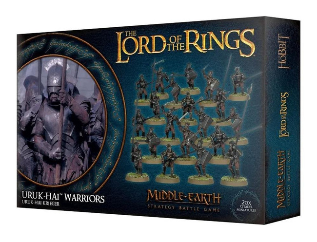 Middle-Earth/Lord Of The Rings: Uruk-Hai Warriors, LOTR Minatures Game