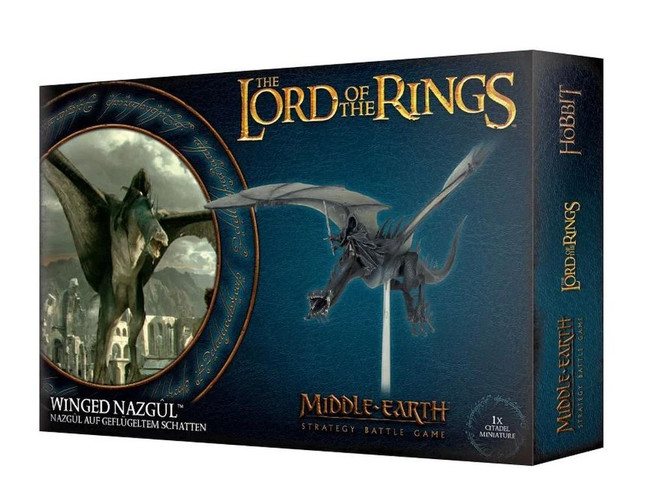 Middle-Earth/Lord Of The Rings: Winged Nazgul, LOTR Minatures Game