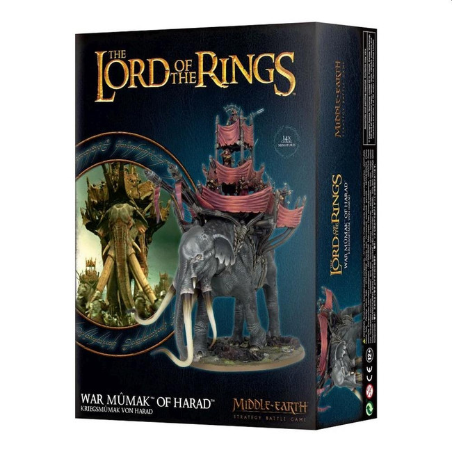 Middle-Earth/Lord Of The Rings: War Mumak Of Harad, LOTR Minatures Game