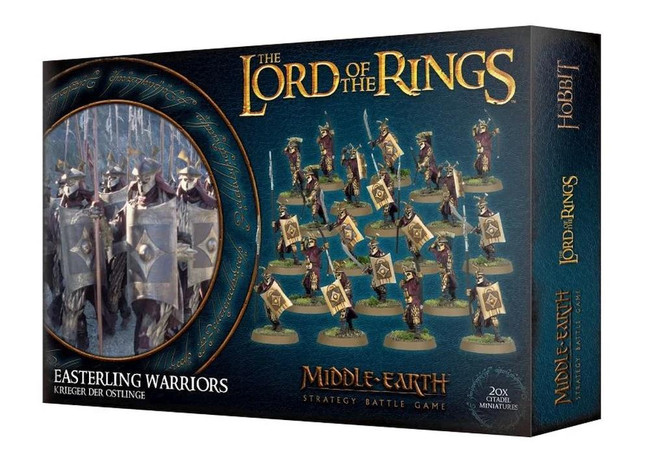 Middle-Earth/Lord Of The Rings: Easterling Warriors, LOTR Minatures Game