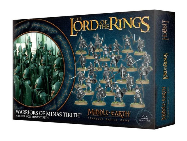 Middle-Earth/Lord Of The Rings: Warriors Of Minas Tirith, Minatures Game