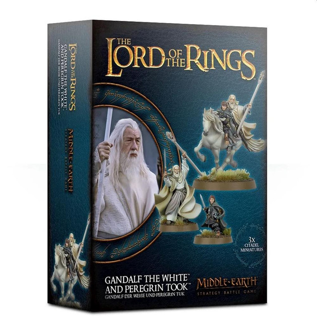Middle-Earth/Lord Of The Rings: Gandalf The White & Peregrin Took