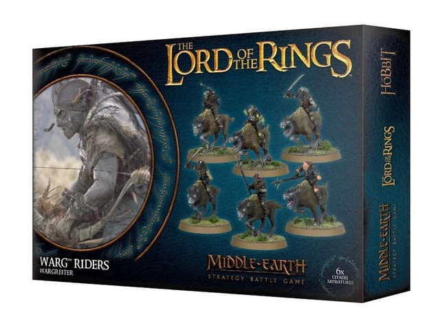 Middle-Earth/Lord Of The Rings: Warg Riders, LOTR Minatures Game