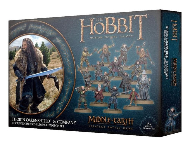 Middle-Earth/Lord Of The Rings: Thorin Oakenshield & Company