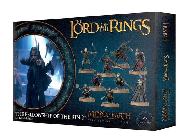 Middle-Earth/Lord Of The Rings: Fellowship Of The Ring, LOTR Minatures Game