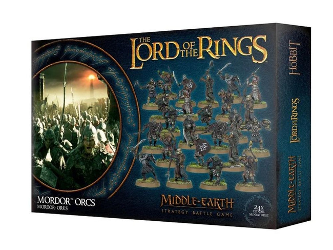 Middle-Earth/Lord Of The Rings: Mordor Orcs, LOTR Minatures Game