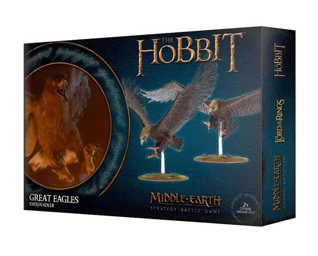 Middle-Earth/Lord Of The Rings: The Hobbit: Great Eagles, Minatures Game