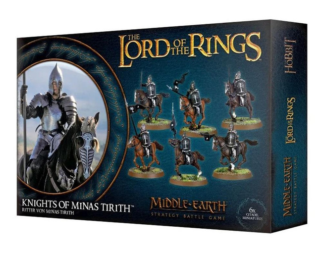 Middle-Earth/Lord Of The Rings: Knights Of Minas Tirith, LOTR Minatures Game