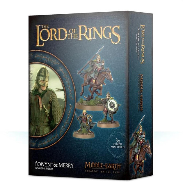 Middle-Earth/Lord Of The Rings: Eowyn & Merry, LOTR Minatures Game