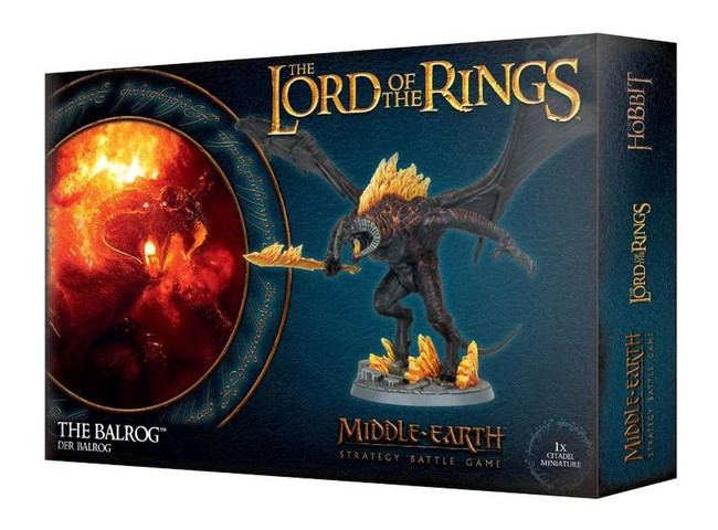 Middle-Earth/Lord Of The Rings: The Balrog, LOTR Minatures Game
