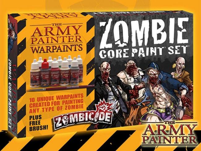 The Army Painter - Zombie Core Paint Set