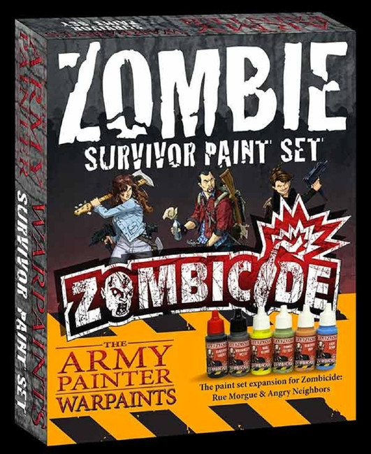 The Army Painter - Zombicide Survivor Paint Set