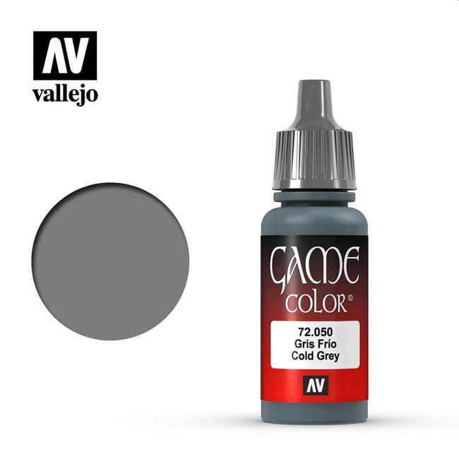 AV Vallejo Game Color 17ml - Cold Grey