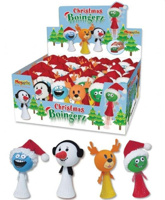 Christmas Boingerz, 4 designs, 1 per sale, Stocking Filler/Gift, 1 Per Sale