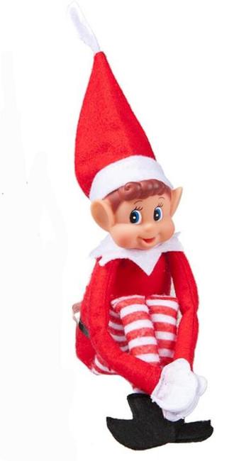 "Naughty Elf on the Shelf, 12"" 30cm, Christmas/Xmas Elves Behaving Badly"