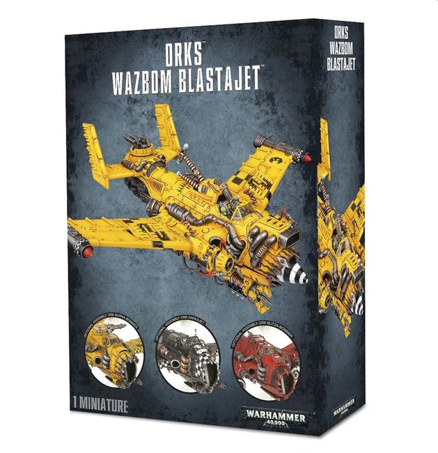 Ork Wazbom Blastajet, Warhammer 40,000, 40k, Games Workshop
