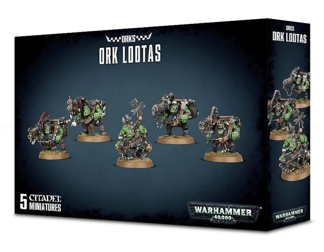 Ork Lootas, Warhammer 40,000, 40k, Games Workshop