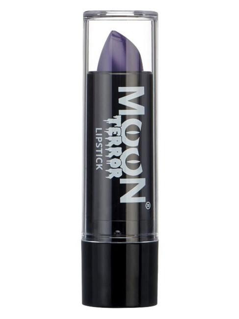 Moon Terror Halloween Lipstick, Purple.