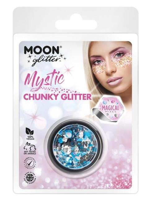 Moon Glitter Mystic Chunky Glitter, Mixed Colours.