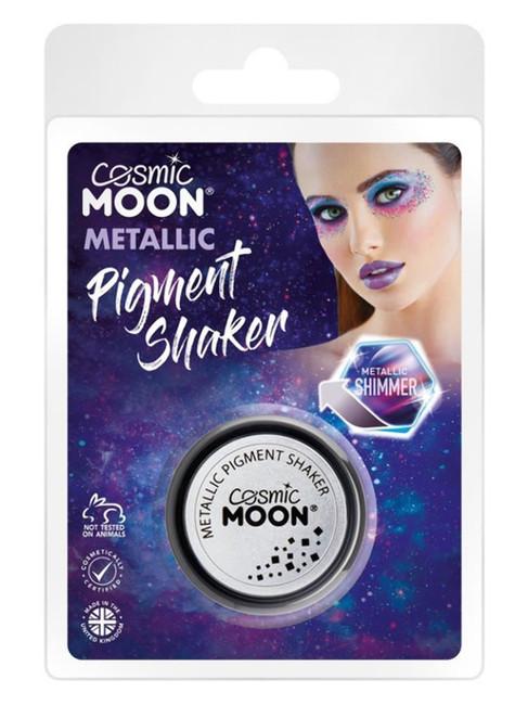 Cosmic Moon Metallic Pigment Shaker, Silver.