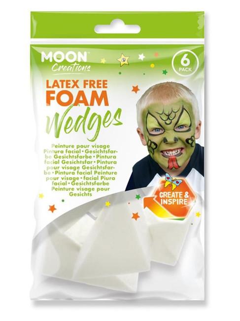 Moon Creations Latex Free Foam Wedge,.