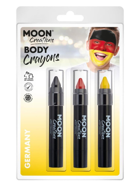 Moon Creations Body Crayons,.