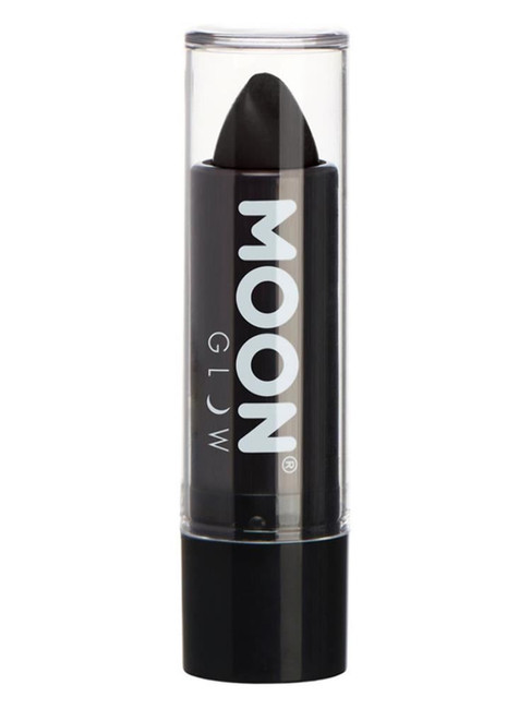 Moon Glow Pastel Neon UV Lipstick, Black.