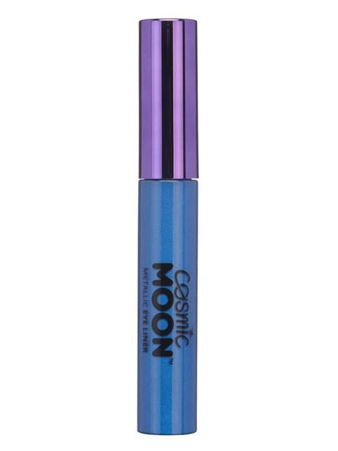 Cosmic Moon Metallic Eye Liner, Blue.