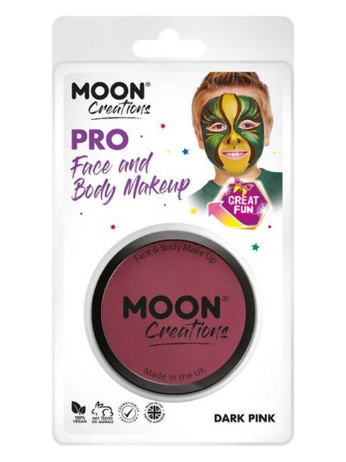 Moon Creations Pro Face Paint Cake Pot, Pink.
