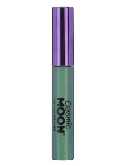 Cosmic Moon Metallic Eye Liner, Green.
