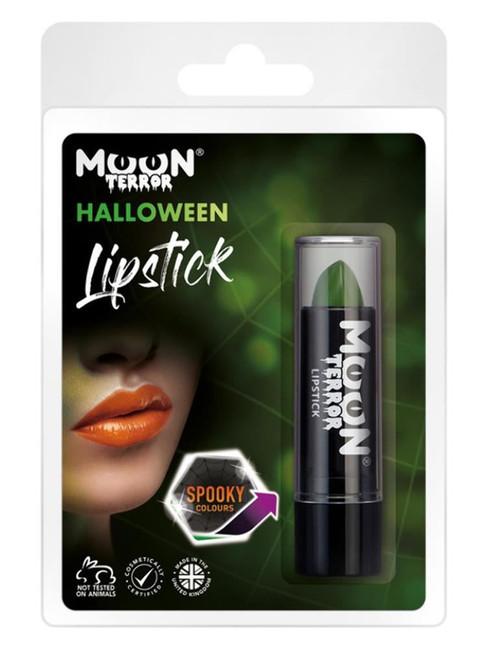 Moon Terror Halloween Lipstick, Green.