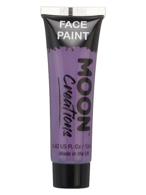 Moon Creations Face & Body Paint, Purple.