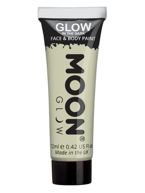 Moon Glow - Glow in the Dark Face Paint, Clear.