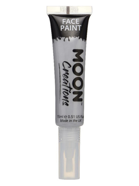 Moon Creations Face & Body Paints, Grey.