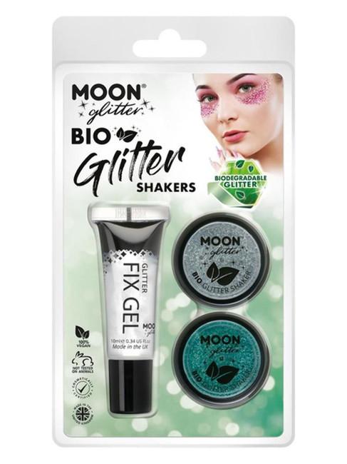 Moon Glitter Bio Glitter Shakers,.