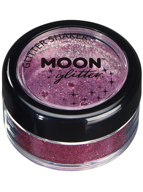 Moon Glitter Classic Fine Glitter Shakers, Pink.