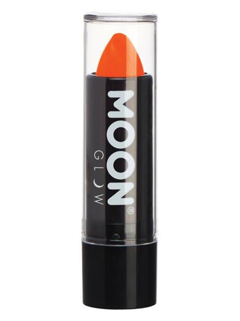 Moon Glow Intense Neon UV Lipstick, Orange.
