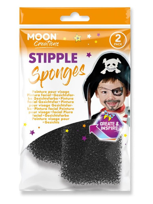 Moon Creations Stipple Sponge,.
