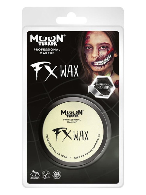 Moon Terror Pro FX Scar Wax, White.
